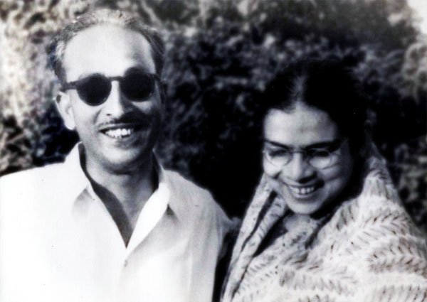 Latika Roy and Her Husband