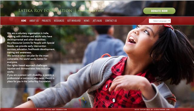 Home Page Latika Roy Foundation site