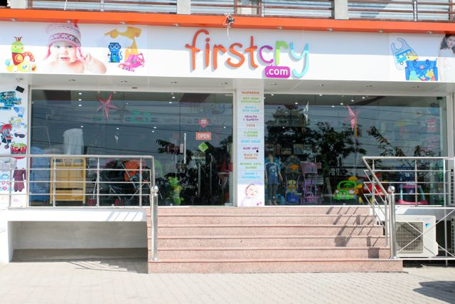 Toystore shop front - five steps to climb to get in the door