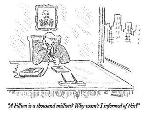 A billion is a thousand million cartoon