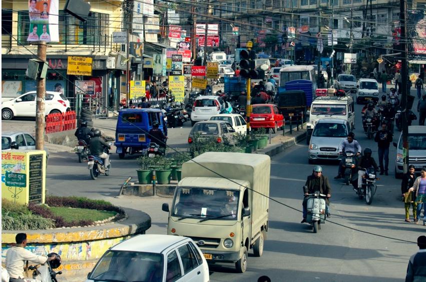 Insane Indian Traffic