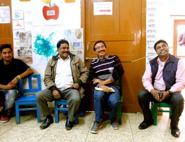 Storytelling at Latika Vihar!