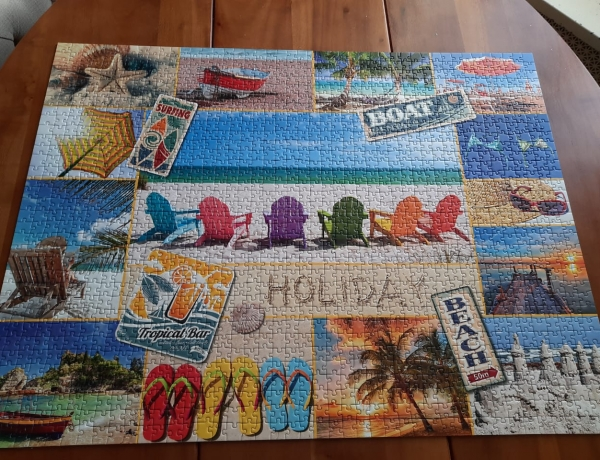13 Ways of Looking At A Jigsaw Puzzle