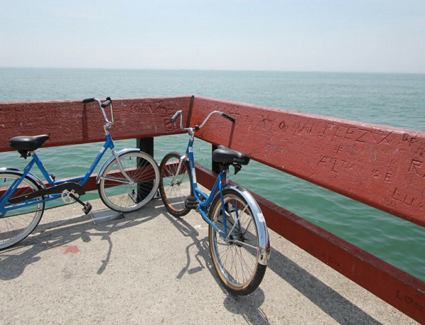 A Girl Named Gia and a Blue Bicycle