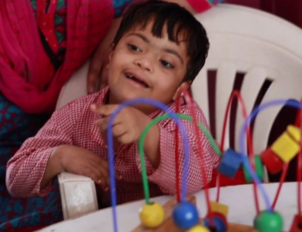 An ecosystem to empower children with disabilities